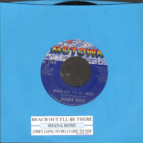 Ross, Diana - Reach Out And Touch (Somebody's Hand)/Dark Side Of The World (with juke box label) - EX8/ - 45 rpm Records