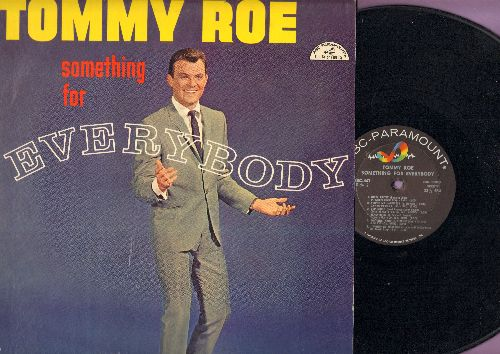 Roe, Tommy - Something For Everybody: Come On And Dance, Be My Baby, That'll Be The Day, Dominique, Nitty Gritty (Vinyl MONO LP record) - NM9/EX8 - LP Records