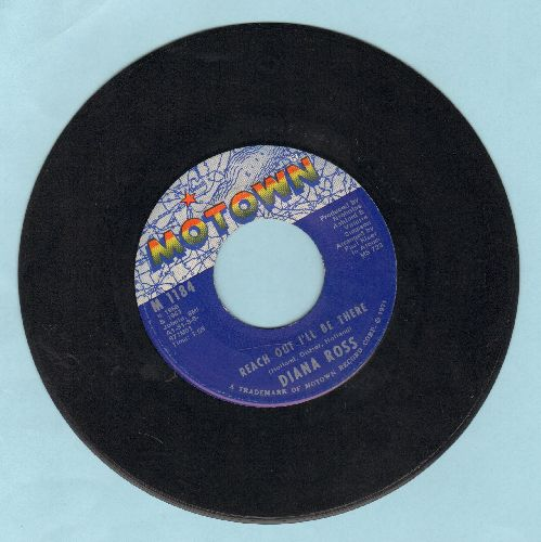 Ross, Diana - Reach Out And Touch (Somebody's Hand)/Dark Side Of The World - EX8/ - 45 rpm Records
