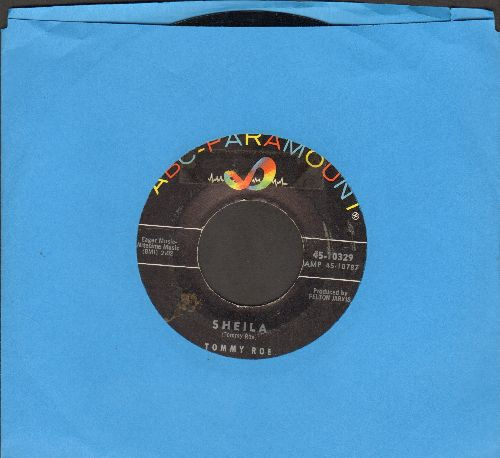 Roe, Tommy - Sheila/Save Your Kisses  - EX8/ - 45 rpm Records