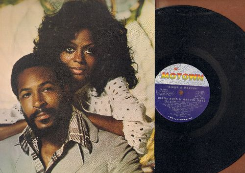 Ross, Diana & Marvin Gaye - Diana & Marvin: Pledging My Love, I'm Falling In Love With You, Don't Knock My Love (vinyl STEREO LP record, unique gate-fold cover) - EX8/EX8 - LP Records