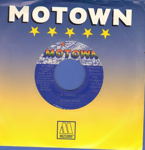 Ross, Diana - I'm Coming Out/Give Up (with Motown company sleeve) - EX8/ - 45 rpm Records