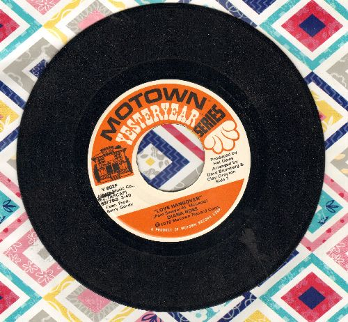 Ross, Diana - Love Hangover/One Love In My Lifetime (double-hit re-issue) - EX8/ - 45 rpm Records