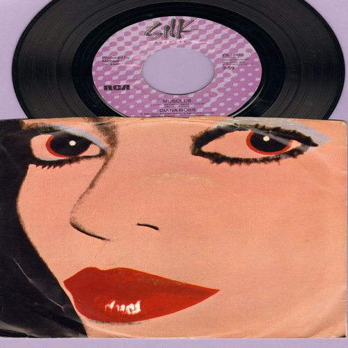 Ross, Diana - Muscles/I Am Me (with picture sleeve) - M10/EX8 - 45 rpm Records