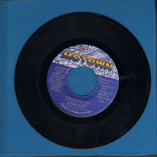 Ross, Diana - I'm Coming Out/Give Up  - EX8/ - 45 rpm Records