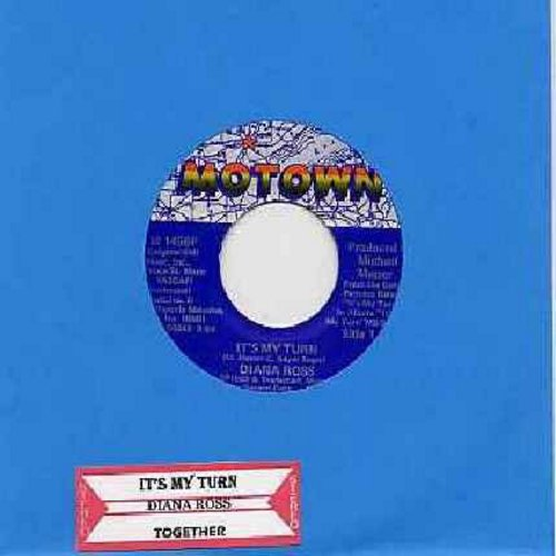 Ross, Diana - It's My Turn/Together - NM9/ - 45 rpm Records