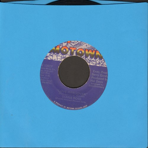 Ross, Diana - Love Hangover/Kiss Me Now - EX8/ - 45 rpm Records