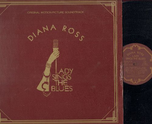Ross, Diana - Lady Sings The Blues - The Billy Holiday Story - Original Motion Picture Sound Track (2 vinyl STEREO LP record set, gate-fold cover, GERMAN PRESSING with BONUS Picture Album!) - M10/EX8 - LP Records