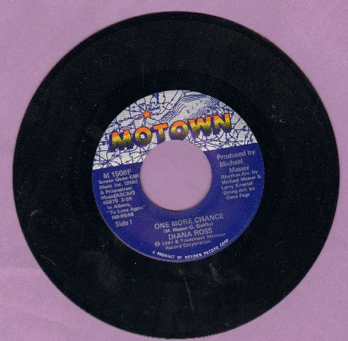 Ross, Diana - One More Chance/After You - NM9/ - 45 rpm Records
