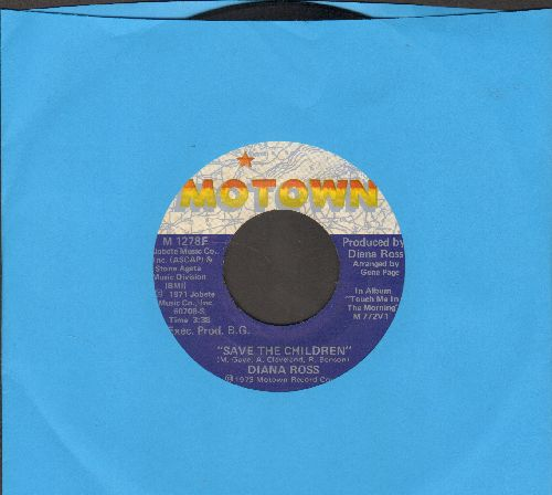 Ross, Diana - Save The Children/Last Time I Saw Him - EX8/ - 45 rpm Records