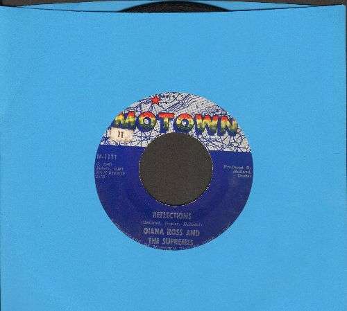Supremes - Reflections/Going Down For The Third Time - VG7/ - 45 rpm Records
