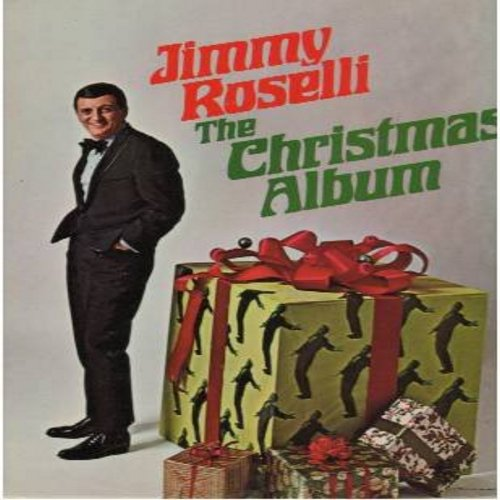 Roselli, Jimmy - The Chritmas Album: Buon Natale, Santa Claus Is Comin' To Town, Winter Wonderland, Rudolph The Red-Nosed Reindeer, White Christmas, The Christmas Song (Vinyl STEREO LP record, NICE condition!) - NM9/NM9 - LP Records