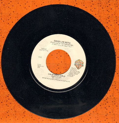 Roth, David Lee - California Girls (Remix Version)/California Girl - EX8/ - 45 rpm Records