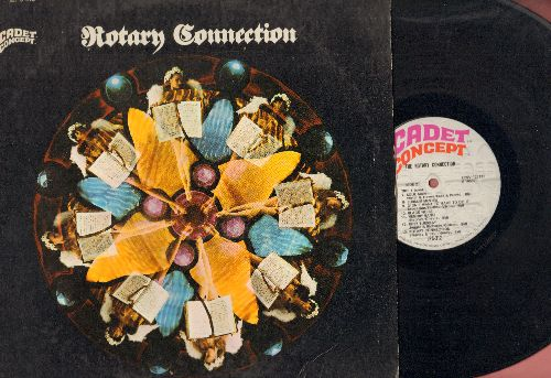 Rotary Connection - The Rotary Connection: Amen, Like A Rolling Stone, Lady Jane, Soul Man, Ruby Tuesday (vinyl STEREO LP record) - NM9/EX8 - LP Records