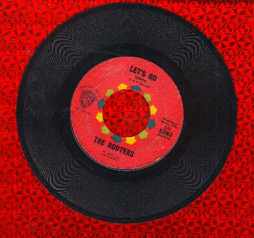Routers - Let's Go/Mashy - EX8/ - 45 rpm Records