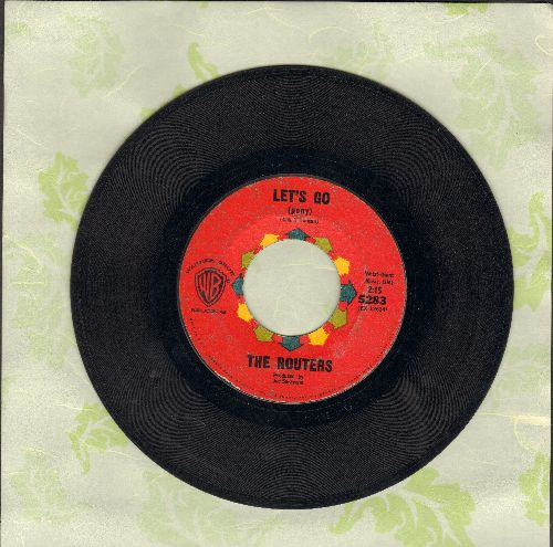 Routers - Let's Go/Mashy - VG7/ - 45 rpm Records