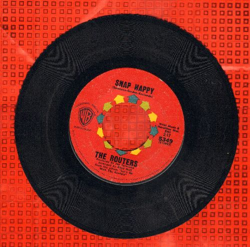 Routers - Snap Happy/Sting Ray - EX8/ - 45 rpm Records
