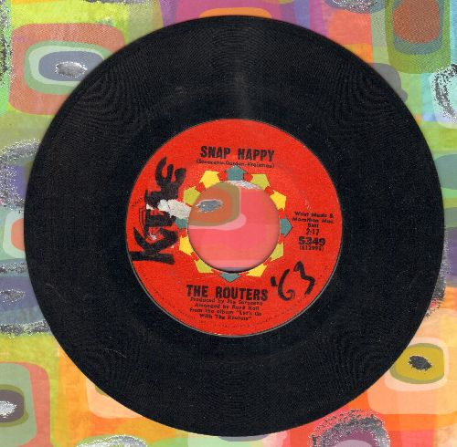 Routers - Snap Happy/Sting Ray (wol) - EX8/ - 45 rpm Records