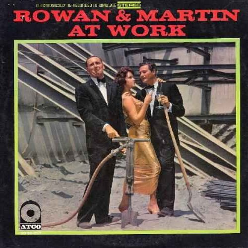 Rowan & Martin - Rowan & Martin At Work: Special Events Interview, X2 and X4 (The Spy Story), The Payola Problems of Hogey Scott Key (Vinyl LP record) - NM9/VG7 - LP Records