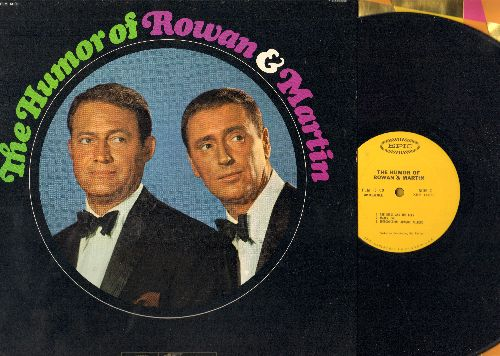 Rowan & Martin - The Humor Of Rowan & Martin: The Doctor Interview, Gilrs, Camp Sunny Sunshine, The Birds And The Bees, Mates Inc., Introduction Adagio/Allegro (vinyl LP record - Original 1960s comedy album!) - NM9/NM9 - LP Records