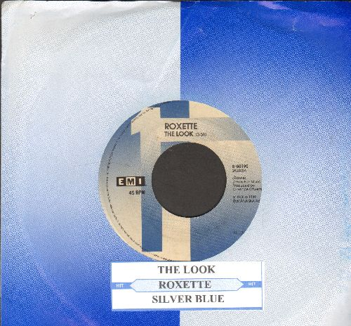 Roxette - The Look/Dressed For Success (with juke box label and company sleeve) - EX8/ - 45 rpm Records