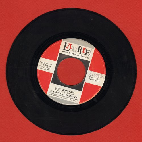 Royal Guardsmen - Baby Let's Wait (FANTASTIC over-looked  60s Soft-Rock GEM!)/So Right (To Be In Love) - EX8/ - 45 rpm Records