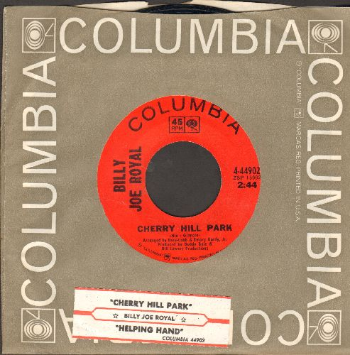 Royal, Billy Joe - Cherry Hill Park/Helping Hand (with Columbia company sleeve and juke box label) - EX8/ - 45 rpm Records