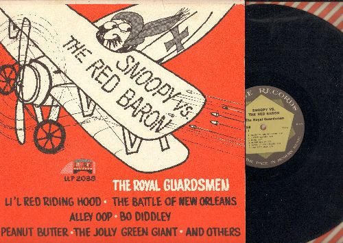 Royal Guardsmen - Snoopy vs. The Red Baron: Li'l Red Riding Hood, The Battle Of New Orleans, Bo Diddley, Alley Oop, Peanut Butter (Vinyl MONO LP record) - EX8/EX8 - LP Records