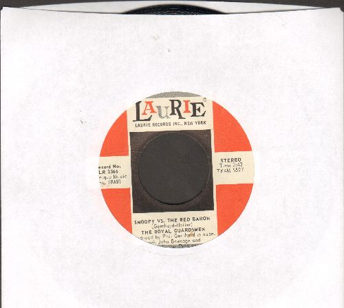 Royal Guardsmen - Snoopy vs. The Red Baron/I Needed You (red/white) - NM9/ - 45 rpm Records