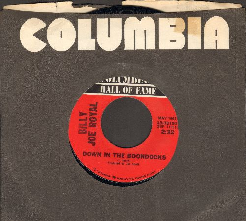 Royal, Billy Joe - Down In The Boondocks/Cherry Hill Park (re-issue) - EX8/ - 45 rpm Records