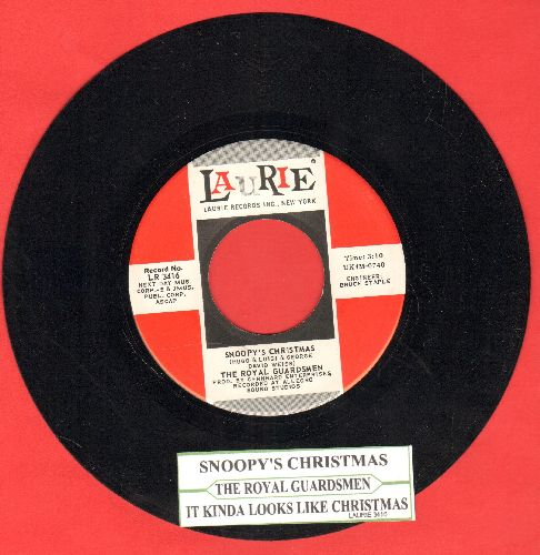 Royal Guardsmen - Snoopy vs. The Red Baron/I Needed You (red/white with juke box label) - NM9/ - 45 rpm Records