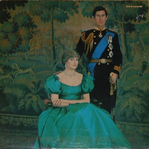 The Royal Wedding - The Royal Wedding - Commemorative vinyl STEREO LP record in gate-fold cover published by the BBC on the occasion of the Royal Wedding of Charles & Diana, 1981. Collector's Item! - NM9/EX8 - LP Records
