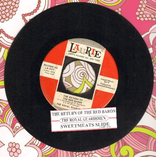 Royal Guardsmen - Return Of The Red Baron/Sweetmeats Slide (with juke box label) - EX8/ - 45 rpm Records