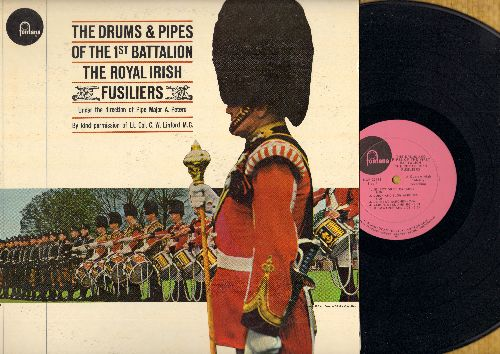 Drums & Pipes Of The 1st Battalion The Royal Irish Fusiliers - Drums & Pipes Of The 1st Battalion The Royal Irish Fusiliers (Vinyl MONO LP record, DJ advance pressing) - M10/EX8 - LP Records