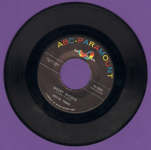 Royal Teens - Short Shorts/Planet Rock  - VG6/ - 45 rpm Records