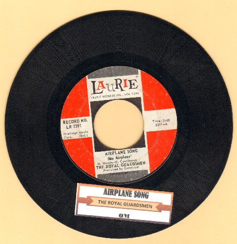 Royal Guardsmen - Airplane Song (My Airplane)/OM (with juke box label) - EX8/ - 45 rpm Records