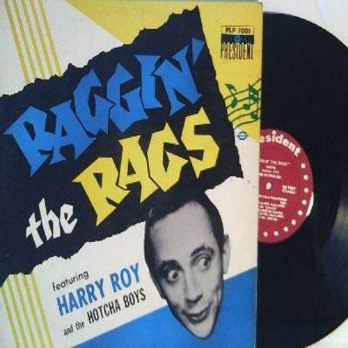 Roy, Harry & The Hotcha Boys - Raggin' The Rags: Tiger Rag, Leave It To Eddie, Let's Do It Again, 12th Street Rag, Piccadilly Rag (Vinyl MONO LP record) - NM9/VG7 - LP Records