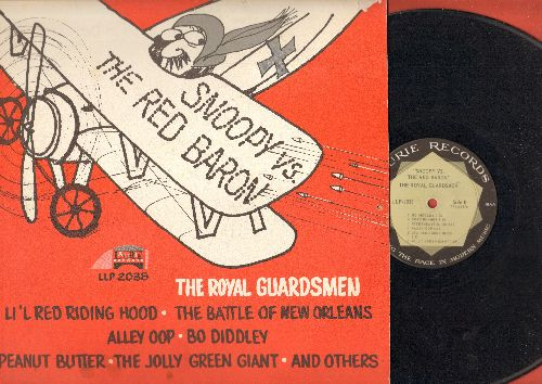 Royal Guardsmen - Snoopy vs. The Red Baron: Li'l Red Riding Hood, The Battle Of New Orleans, Bo Diddley, Alley Oop, Peanut Butter (Vinyl MONO LP record) - VG7/VG6 - LP Records