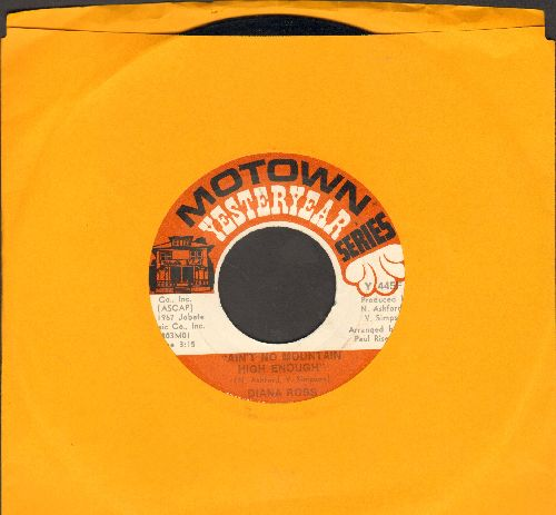 Ross, Diana - Ain't No Mountain High Enough/Reach Out And Touch (Somebody's Hand) (double-hit re-issue) - EX8/ - 45 rpm Records