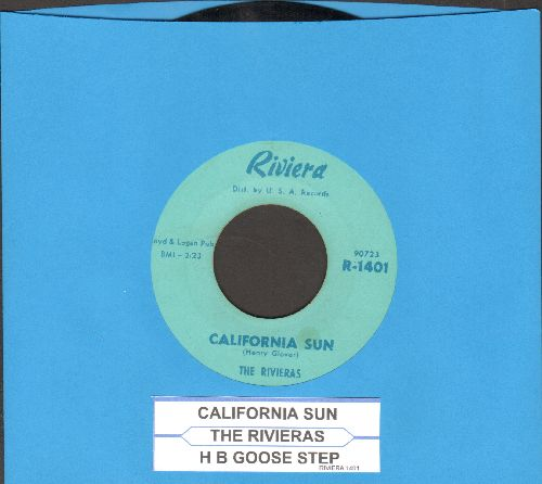 Rivieras - California Sun/H B Goose Step (with juke box label) - EX8/ - 45 rpm Records