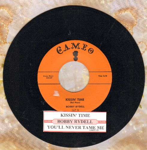 Rydell, Bobby - Kissin' Time/You'll Never Tame Me (with juke box label) - EX8/ - 45 rpm Records