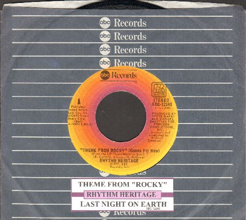 Rhythm Heritage - Theme From Rocky (Gonna Fly Now)/Last Bight On Earth (with juke box label and ABC company sleeve) - NM9/ - 45 rpm Records