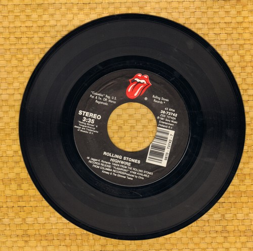 Rolling Stones - Highwire/2000 Light Years From Home - NM9/ - 45 rpm Records