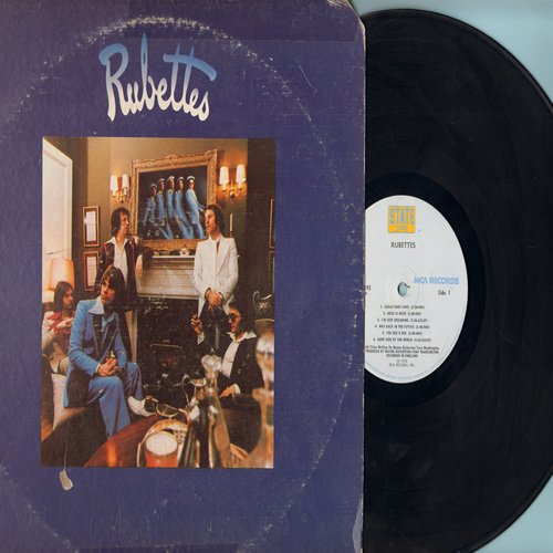 Rubettes - Rubettes: Sugar Baby Love, Rock Is Dead, Way Back In The Fifties, Juke Box Jive, Sha Na Na Song (Vinyl LP record, 1976 first pressing) - EX8/VG6 - LP Records