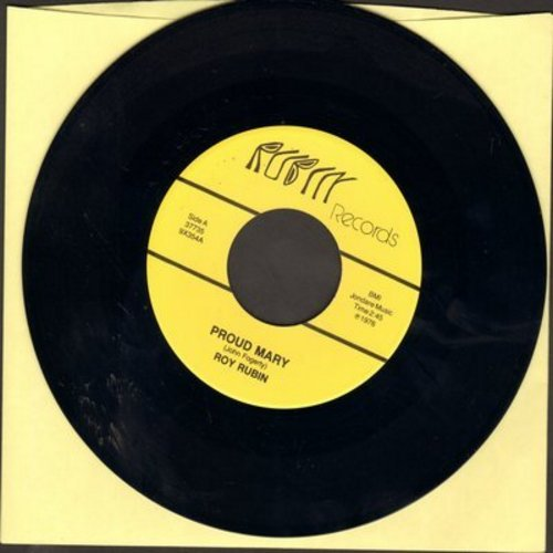 Rubin, Roy - Proud Mary/I Can't Stop Loving You (NICE cover version 2-sider!) - M10/ - 45 rpm Records