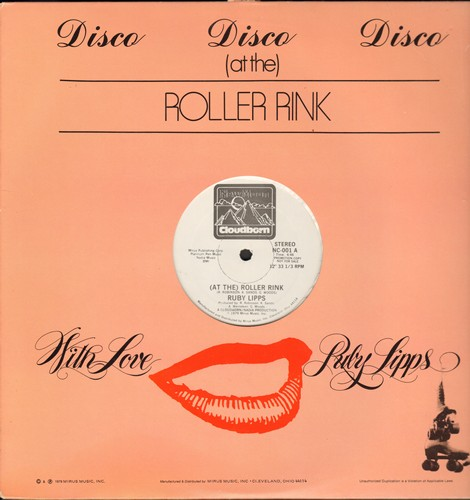 Ruby Lipps - (At The) Roller Rink/(In The) Summertime (12 inch vinyl Maxi Single, DJ advance pressing with custom cover) - M10/ - LP Records