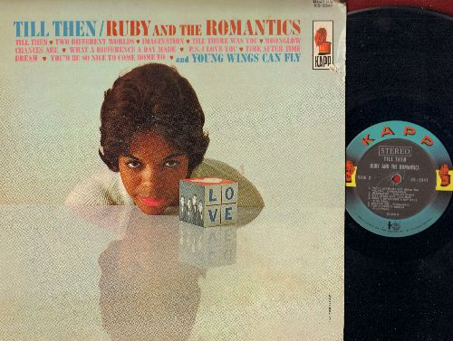 Ruby & The Romantics - Till Then: Chances Are, What A Difference A Day Made, Time After Time, Dream (vinyl STEREO LP record) (torn cover edge) - EX8/VG6 - LP Records