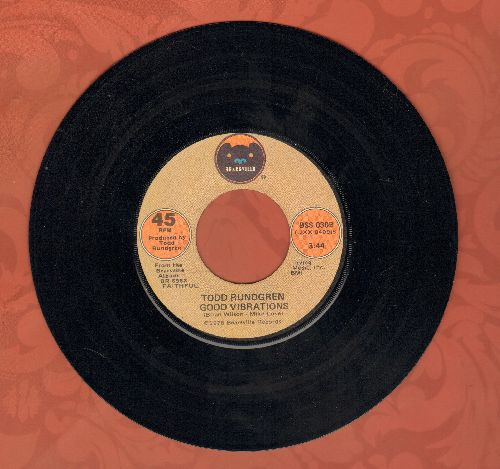 Rundgren, Todd - Good Vibrations (updated version of the Beach Boys Classic!)/When I Pray - NM9/ - 45 rpm Records