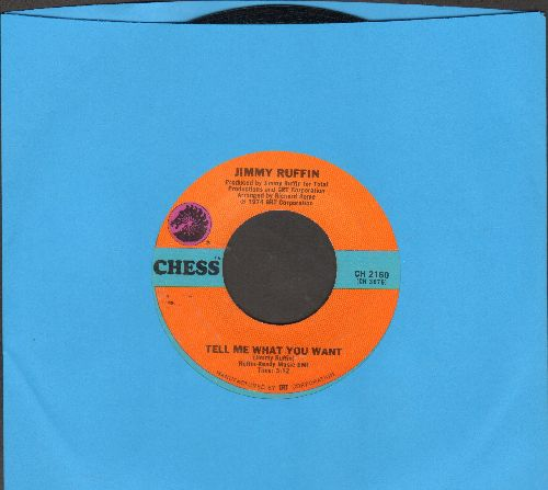Ruffin, Jimmy - Tell Me What You Want/Do You Know Me - NM9/ - 45 rpm Records
