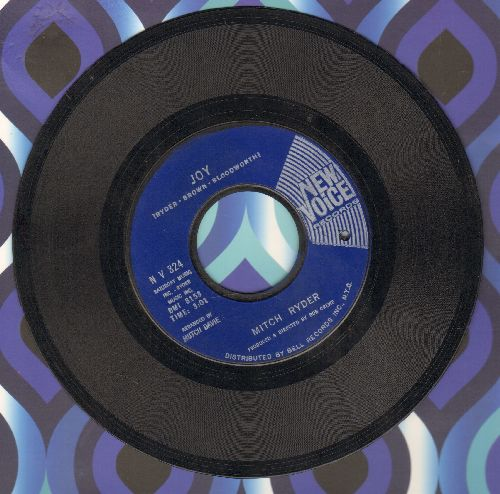 Ryder, Mitch & The Detroit Wheels - Joy/I'd Rather Go To Jail (bb) - VG7/ - 45 rpm Records